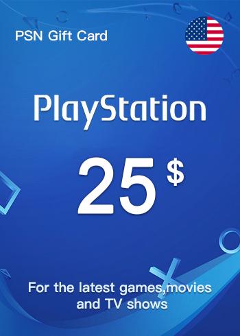 PSN Gift Card 25 USD US, mmorc.vip