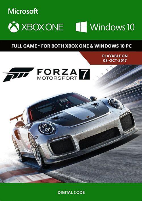 Forza Motorsport 7 Xbox One/Windows 10 Digital Code Global, mmorc.vip
