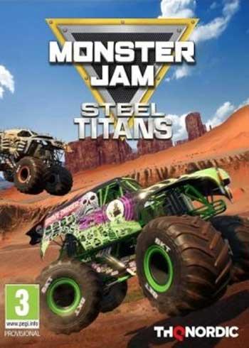 Monster Jam Steel Titans Steam Digital Code Global, mmorc.vip