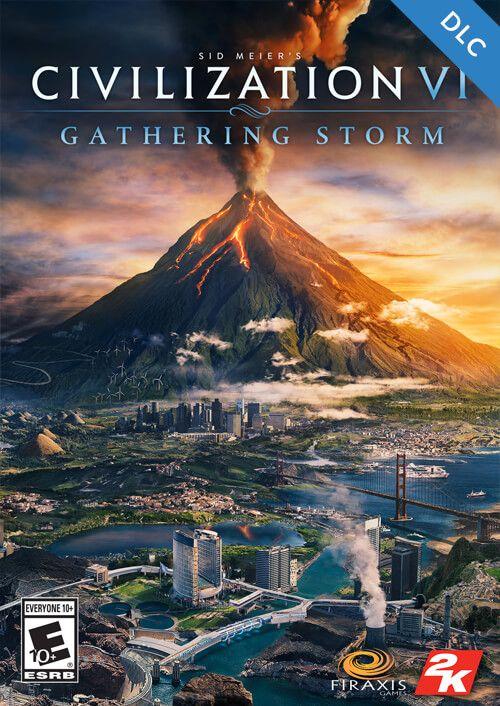 Civilization VI: Gatering Storm Steam Digital Code Europe