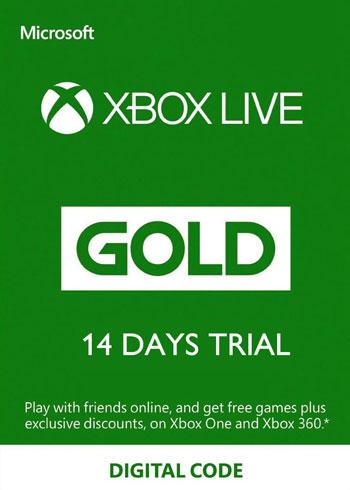 Xbox Live Gold Trial Xbox One 14 Days Key Global, mmorc.vip