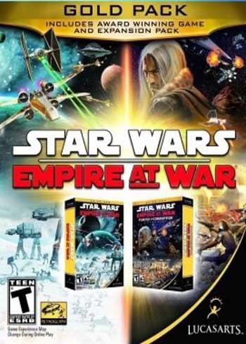 Stars Wars: Empire at War Gold Pack Steam Digital Code Global
