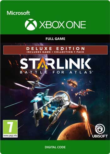 Starlink Battle for Atlas Deluxe Edition Xbox One Digital Code Global, mmorc.vip