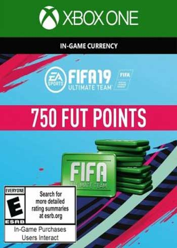 FIFA 19 Ultimate Team 750 Points Xbox One Global, mmorc.vip
