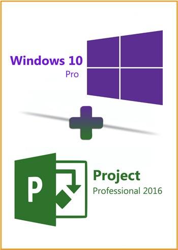 Windows 10 Pro + Project Pro 2016 Key Global Bundle, mmorc.vip