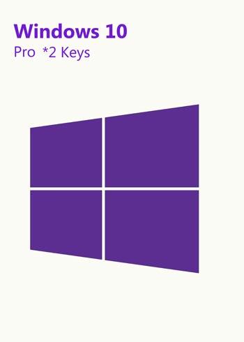 Windows 10 Professional *2 Keys, mmorc.vip