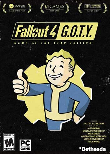 Fallout 4: GOTY Game of the Year Edition Steam Digital Code Global, mmorc.vip