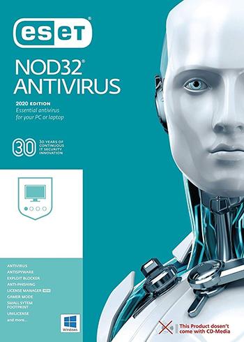 ESET NOD32 Antivirus 2020 10 Devices 2 Years Digital Code Global