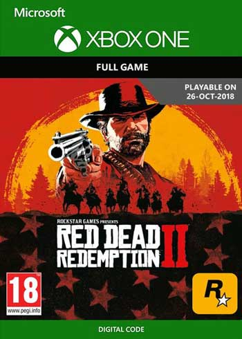 Red Dead Redemption 2 Xbox One Digital Code US, mmorc.vip