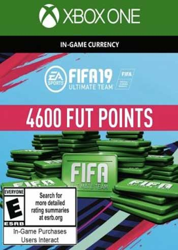 FIFA 19 Ultimate Team 4600 Points Xbox One Global, mmorc.vip