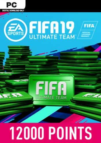 FIFA 19 Ultimate Team 12000 Points Origin Global, mmorc.vip