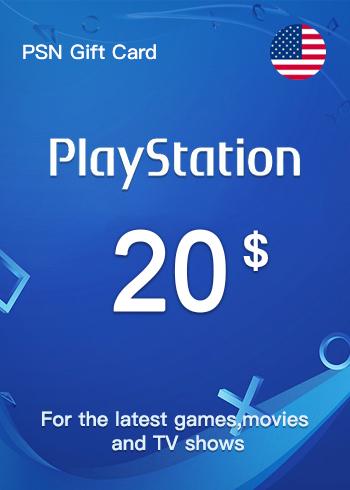PSN Gift Card 20 USD US