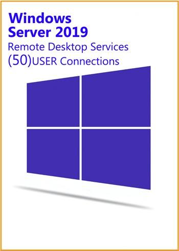 Windows Server 2019 Remote Desktop Services 50 USER Connections Key Global, mmorc.vip