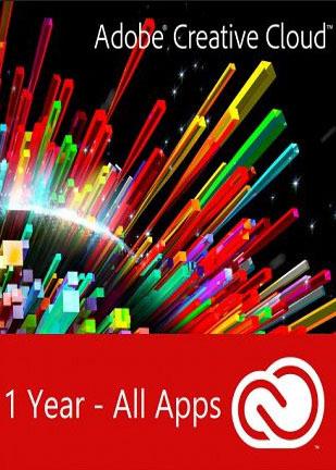Adobe Creative Cloud All Apps 1 Year PC/MAC Key Global, mmorc.vip