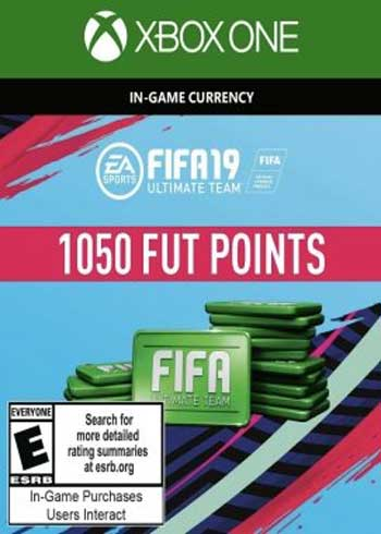 FIFA 19 Ultimate Team 1050 Points Xbox One Global, mmorc.vip