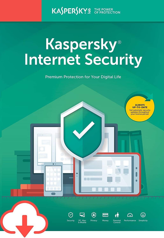 Kaspersky Internet Security 2021 10 Devices 3 Years Multi Digital Code Global, mmorc.vip