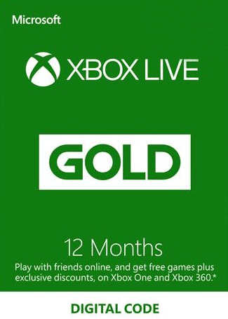 Xbox Live 12 Months Gold Subscription Card Global, mmorc.vip