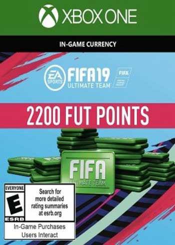 FIFA 19 Ultimate Team 2200 Points Xbox One Global, mmorc.vip