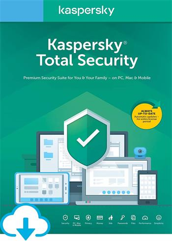 Kaspersky Total Security 2020 5 Devices 2 Years Multi Digital Code Global, mmorc.vip