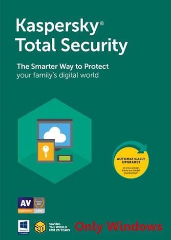 Kaspersky Total Security 2021 5 Devices 1 Year Digital Code Global