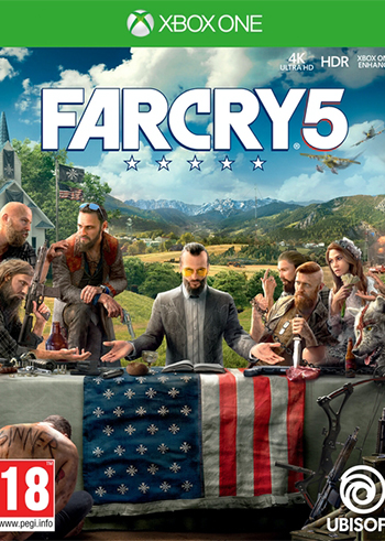 Far Cry 5 Xbox Live Digital Code United States, mmorc.vip