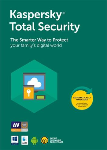Kaspersky Total Security 2021 Random Device And Year Digital Code