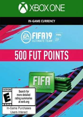 FIFA 19 Ultimate Team 500 Points Xbox One Global, mmorc.vip