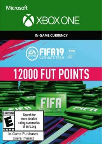 FIFA 19 Ultimate Team 12000 Points Xbox One Global, mmorc.vip